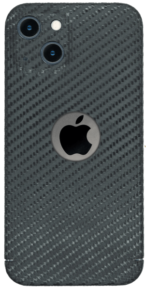 Carbon Cover iPhone 13 with Logowindow