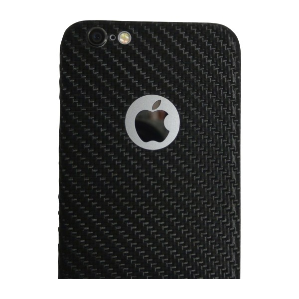 Carbon Cover iPhone 6 with Logo Window