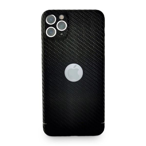Carbon Cover iPhone 11 Pro Max with Logo Window