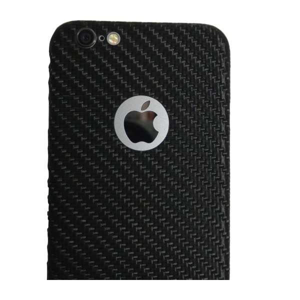 Carbon Cover iPhone 6 Plus with Logo Window