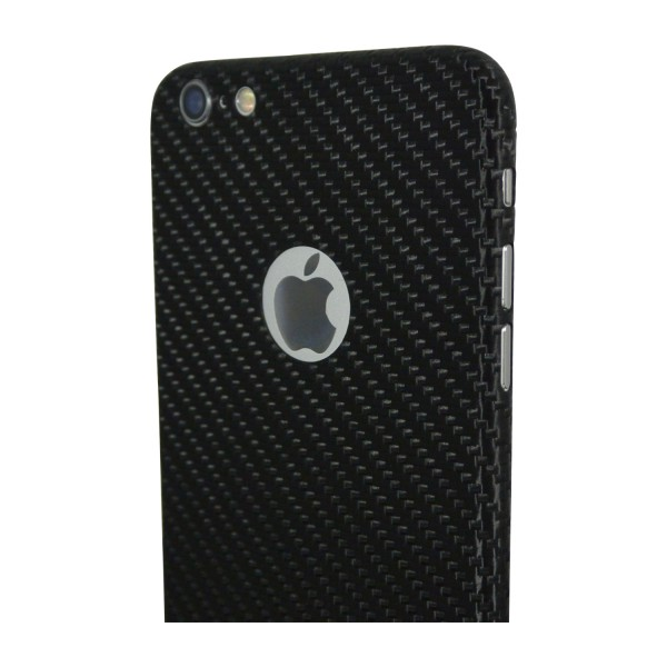 Carbon Cover iPhone 6s with Logo Window